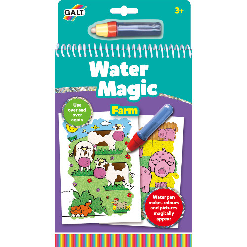 Galt Water Magic Farm – Carte Colorat Apa Magica Ferma