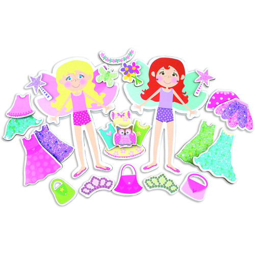Fairy Dressing Up Set - Set Creatie Magnetic Zane