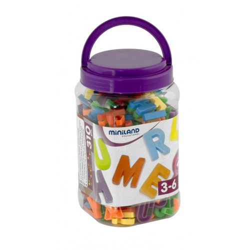 Miniland Litere Mari Magnetice 310
