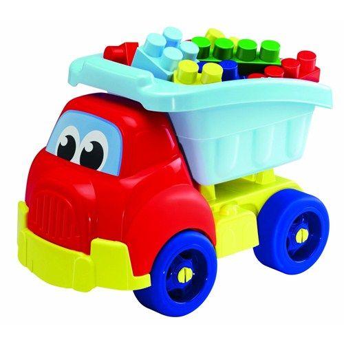 Ecoiffier Camion cu 30 de Cuburi