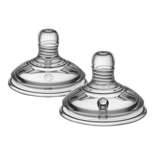 Tommee Tippee Tetina Closer to Nature FLux Variabil 2 Bucati 0+