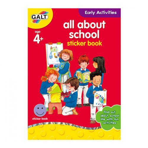 All about School - Carte Activitati cu Abtibilduri thumbnail