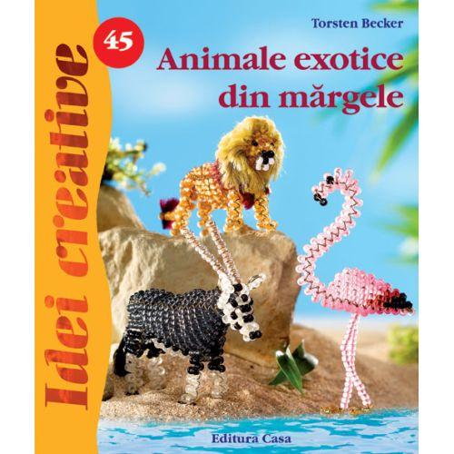 Animale Exotice din Margele 45 - Idei Creative