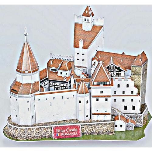 CubicFun Puzzle 3D Castelul Bran – Legenda Contelui Dracula