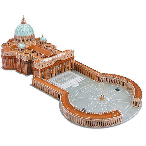 CubicFun Puzzle 3D Basilica Sfantul Petru Vatican
