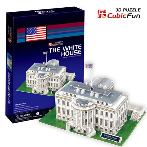 CubicFun Puzzle 3D The White House