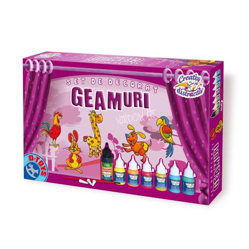 Set Decorat Geamuri - Animale