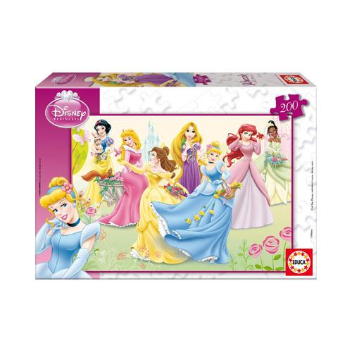 Puzzle Printesele Disney - 200 piese