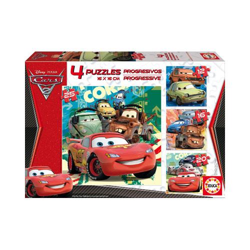 Puzzle Progresiv Cars