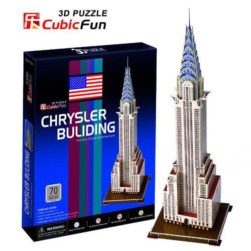Puzzle 3D Crysler Building