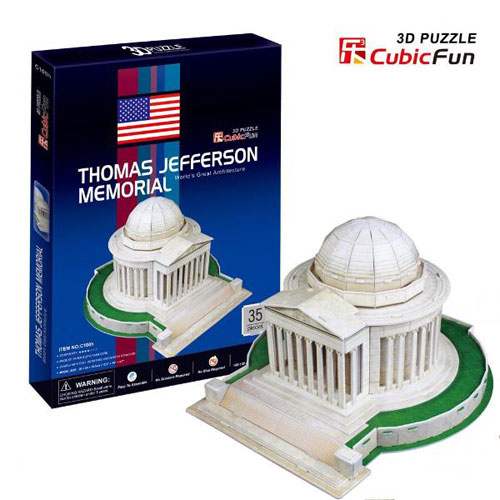 Puzzle 3D Thomas Jefferson Memorial