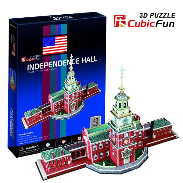 Puzzle 3D Independence Hall