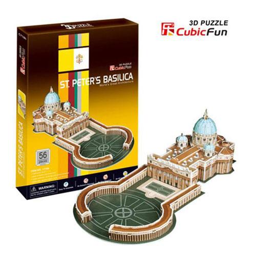 Puzzle 3D Basilica Sfantul Petru - Vatican