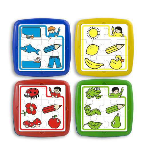 Miniland Puzzle Educativ Set de 4