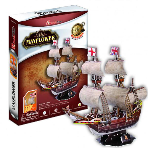 Puzzle 3D Mayflower