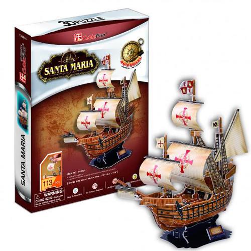 Puzzle 3D Santa Maria