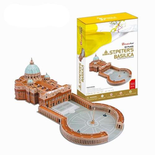 Puzzle 3D Sf Petru s Basilica