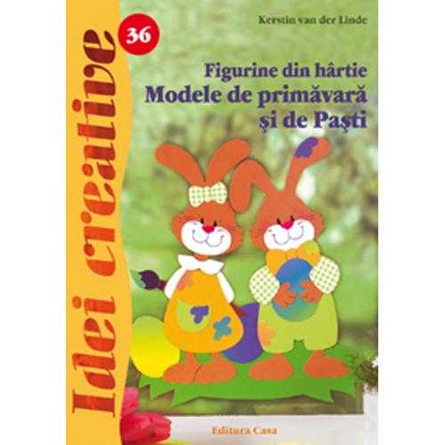 Figurine din Hartie Modele de Primavara si de Pasti 36 - Idei Creative