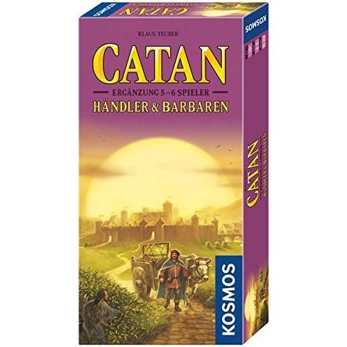 Colonistii din Catan -Extensie Negustori si Barbari 5-6 Jucatori
