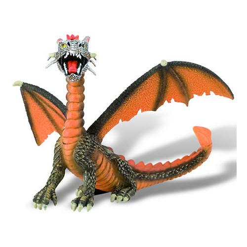 Figurina Dragon Orange 2