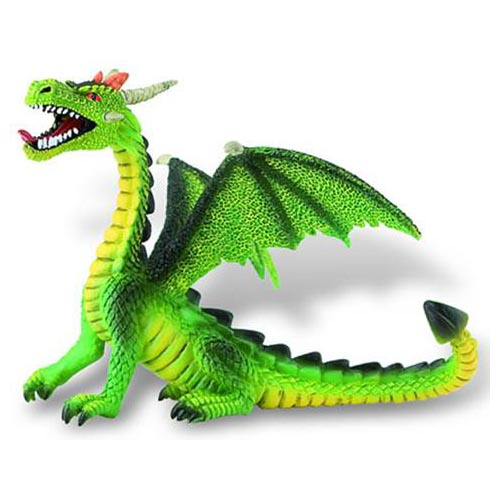 Figurina Dragon Verde