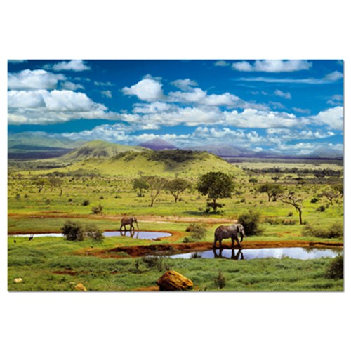 Puzzle 500 Piese Parcul National Tsavo