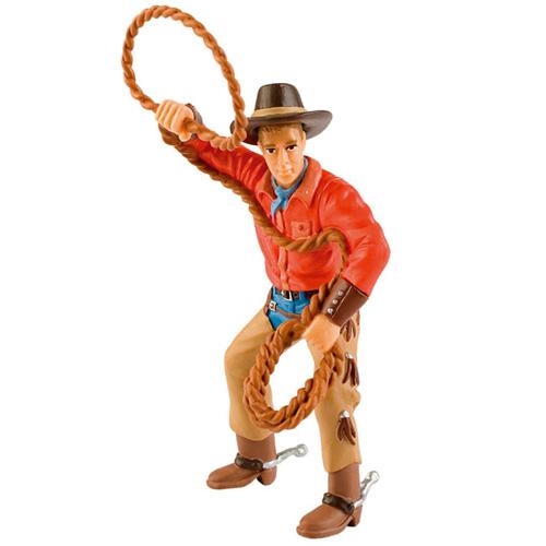 Figurina Cowboy cu Lasou