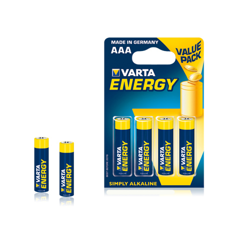 Set 4 Baterii AAA Energy