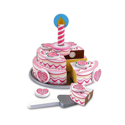 Melissa and Doug Set de Joaca Tort Etajat