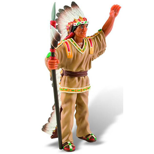 Figurina Indian Capetenie