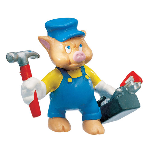 Bullyland Figurina Little Pigs Mechanic