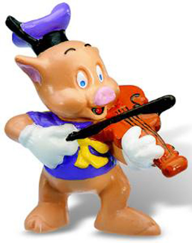 Bullyland Figurina Little Pigs Violonist