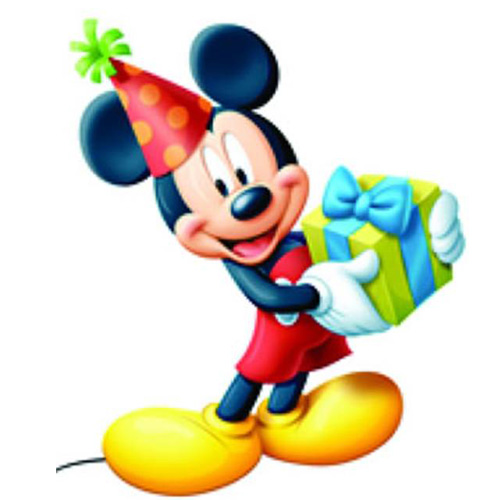 Figurina Mickey Celebration
