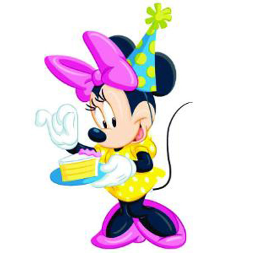 Figurina Minnie Celebration