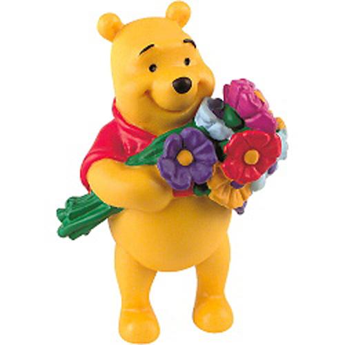 Figurina Winnie the Pooh cu Flori