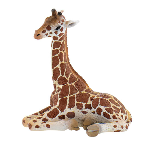 Figurina Pui de Girafa