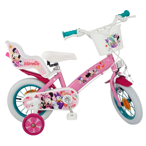 Bicicleta Minnie Mouse Club House 12 inch Roz