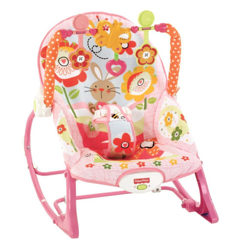 Balansoar 2 in 1 Infant to Todler Pink