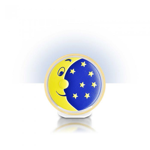 Lampa de Veghe cu Led - Motiv Luna si Stele
