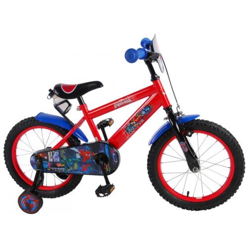 E and L Cycles Bicicleta Spiderman 16 inch