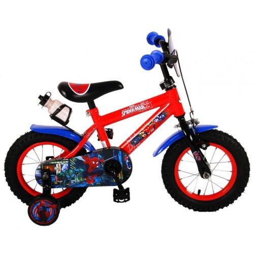 E and L Cycles Bicicleta Spiderman 12 inch