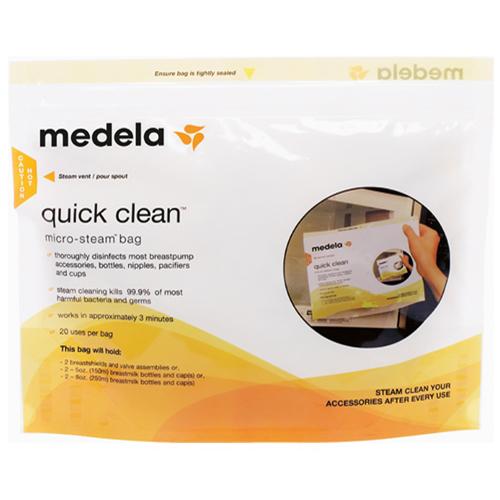 Pungi pentru Sterilizare la Microunde Quick Clean thumbnail