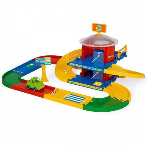 Kid Cars 3D Garaj cu 2 Etaje
