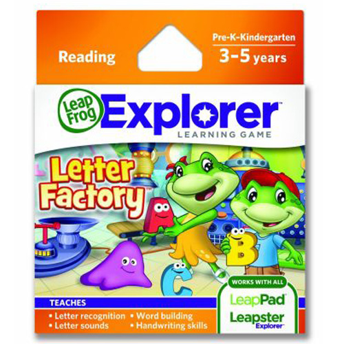 Soft Educational LeapPad Fabrica Literelor