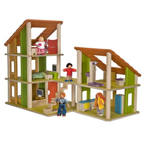 Plan Toys Castel Papusi cu Mobilier