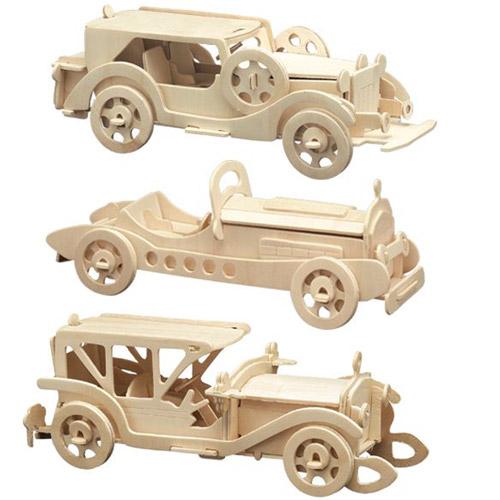 Puzzle 3D Masini de Colectie