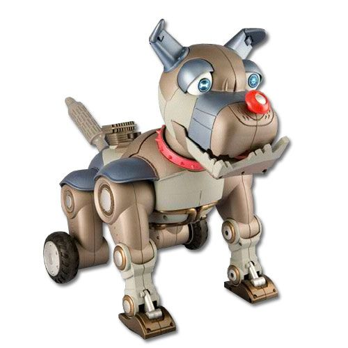 Robot Wrex the Dawg