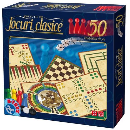 D-Toys Colectie 50 Jocuri Clasice