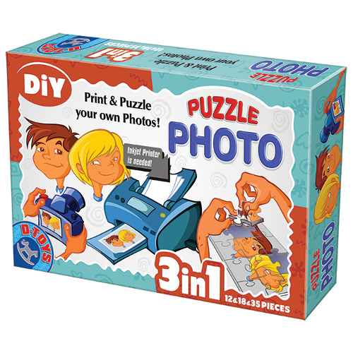 Photo Puzzle 3 in 1 Fara Rama