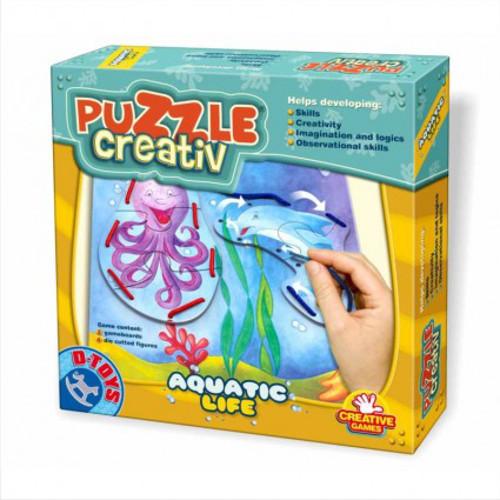 Puzzle Creativ Viata Acvatica